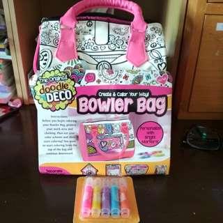 Brand new the original doodle deco bowler bag