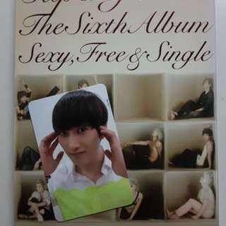 Super Junior The Sixth Album 'Sexy Free & Single'