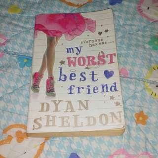 My worst best friend by Dyan Sheldon #Huat50Sale