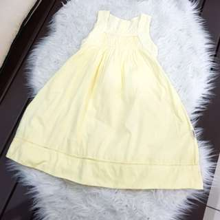 Poney yellow dress (4-5y/o)