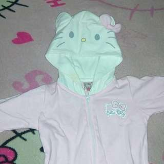 Preloved Hello Kitty Baby Frogsuit