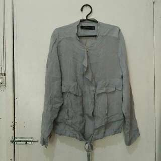 Zara blouse / top