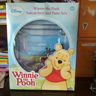 Brand new in box Disney Winnie the Pooh paint sets
