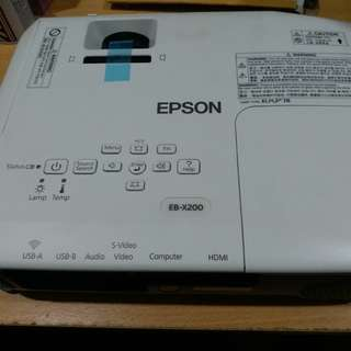 Projector Acc / EPSON EB-X200 LCD Projector