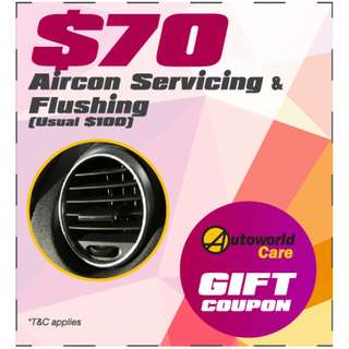 Car Aircon Servicing & Flushing