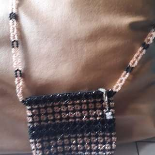 Sling beads bag