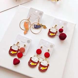 🇰🇷韓國fashion earrings#買二送一