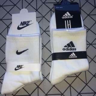 Nike / Adidas socks