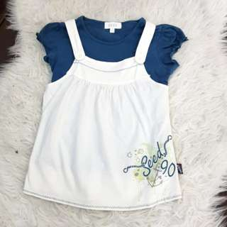 Seed Girl's Top 2pcs (size :7)