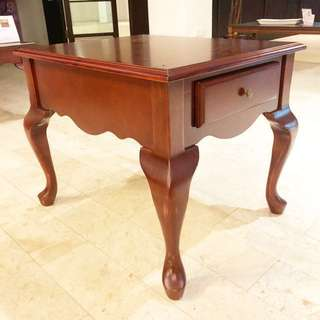 🆕 Winchester Solid Wood Lamp Side Table