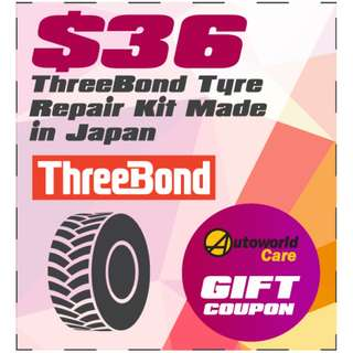 ThreeBond Tyre Repair Kit