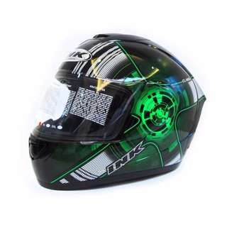 Helmet Ink CL Max # 4 Flou L Clear (Black/Green)