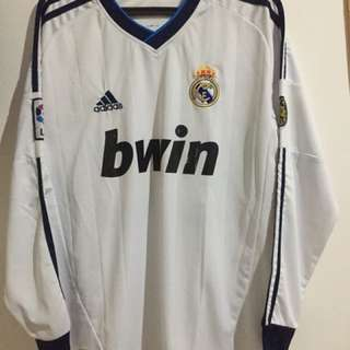 Real Madrid Jersey - Long Sleeve (home)