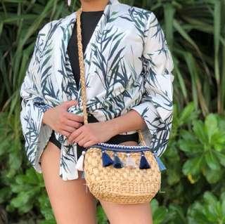 Bali Native Summer Tassel Beach Bag