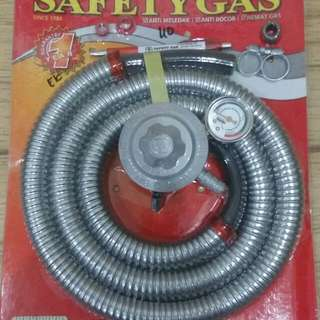Regulator LPG Meteran Selang Safety Gas