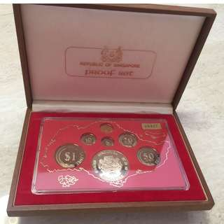 1980 Singapore Proof Set