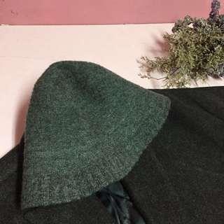 毛呢漁夫帽
