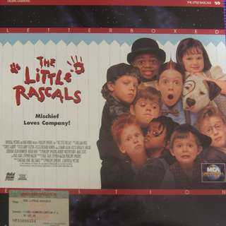 Laser Disc Movie - The Little Rascals