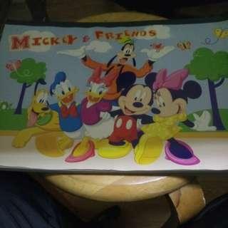 迪士尼 圖畫冊
