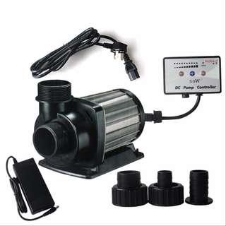 Jebao DCT-6000 / DCT-8000 DC Pump with Controller for Aquarium Fish Tank