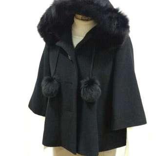 🚚 JAYRO 日本高檔專櫃品牌 毛料連帽外套