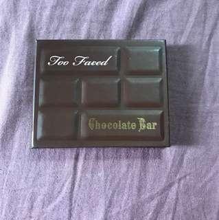Mini Too Faced Chocolate Bar palette