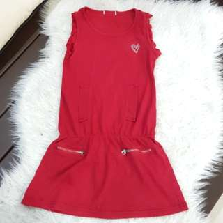 Girl's Red Dress (6-7y/o)