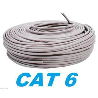 Cat 6/ Cat 6E Lan Cable (Customize Length)
