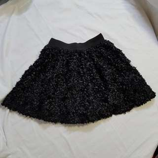 Girl's Black Mini Skirt