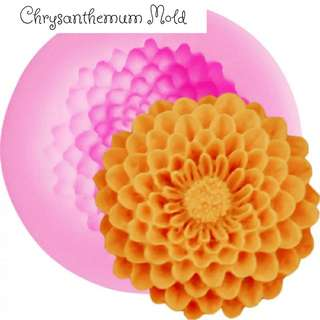 Resin Mold Flower Chrysanthemum Small Silicone Mould