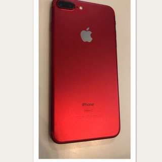 iPhone 7plus 128g 96%new RED