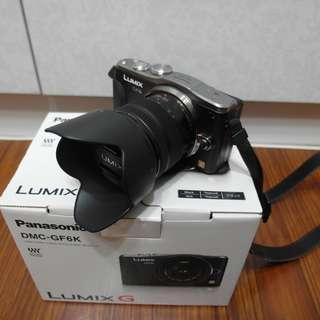 【出售】Panasonic GF6+14-42mm II 微單眼相機 盒裝完整 9.5成新