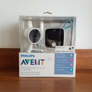 PHILIPS AVENT Digital video and audio baby monitor