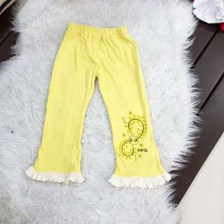 Power Puff Girl Long Pant (M size)