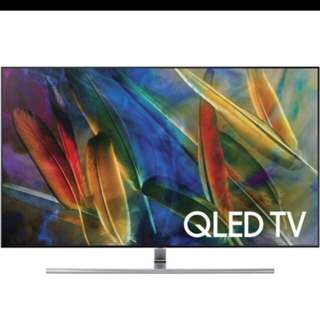 Wts Samsung 55 inch qled tv $2000