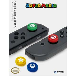 HORI Nintendo Switch Super Mario Analog Caps