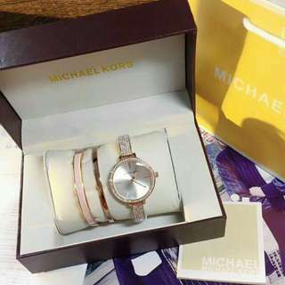 New Michael Kors Watch Set