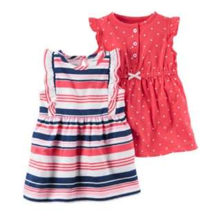 BN Carter's 2-pack Jersey Dresses