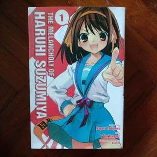 The Melancholy of Haruhi Suzumiya Vol. 1-3