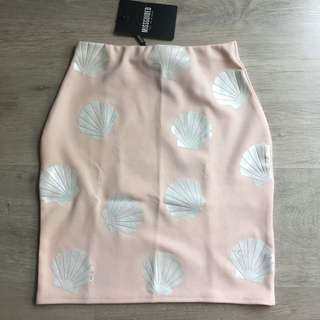 Missguided Shell Skirt