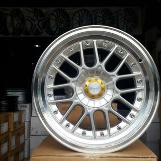 Velg HSR ring 17 hole 8x100 /114