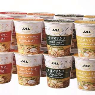 JAL 杯麵