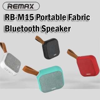 Remax RB-M15 Portable Fabric Bluetooth Speaker