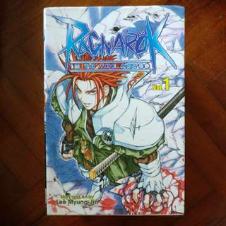 Raganrok: In To The Abyss Vol. 1-6, 8, 10.