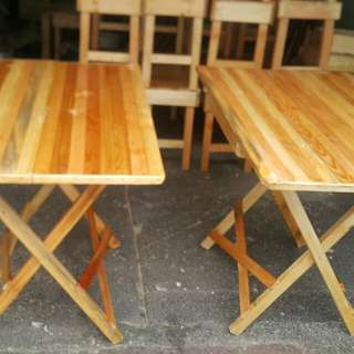 Wooden foldable table for sale
