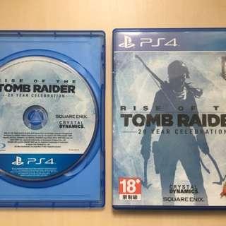 PS4 (rise of the tomb raider, batman arkham knight, GTA 5, last of us)