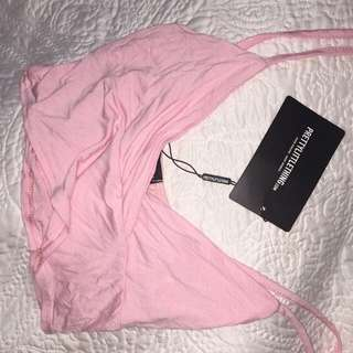 PINK CROP TOP - PRETTY LITTLE THING