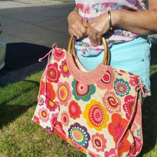 Bag woven Natural fibres