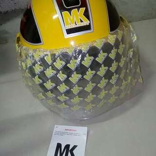 Brand New MK Helmet (Yellow Color)