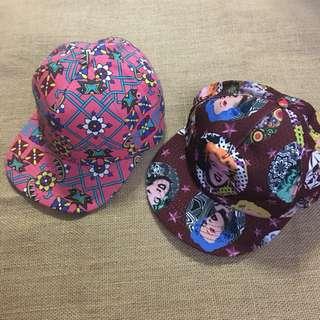 🚚 韓國帶回🇰🇷 安迪沃荷棒球帽/幾何圖形 小花 小臉 洋基帽 翻玩